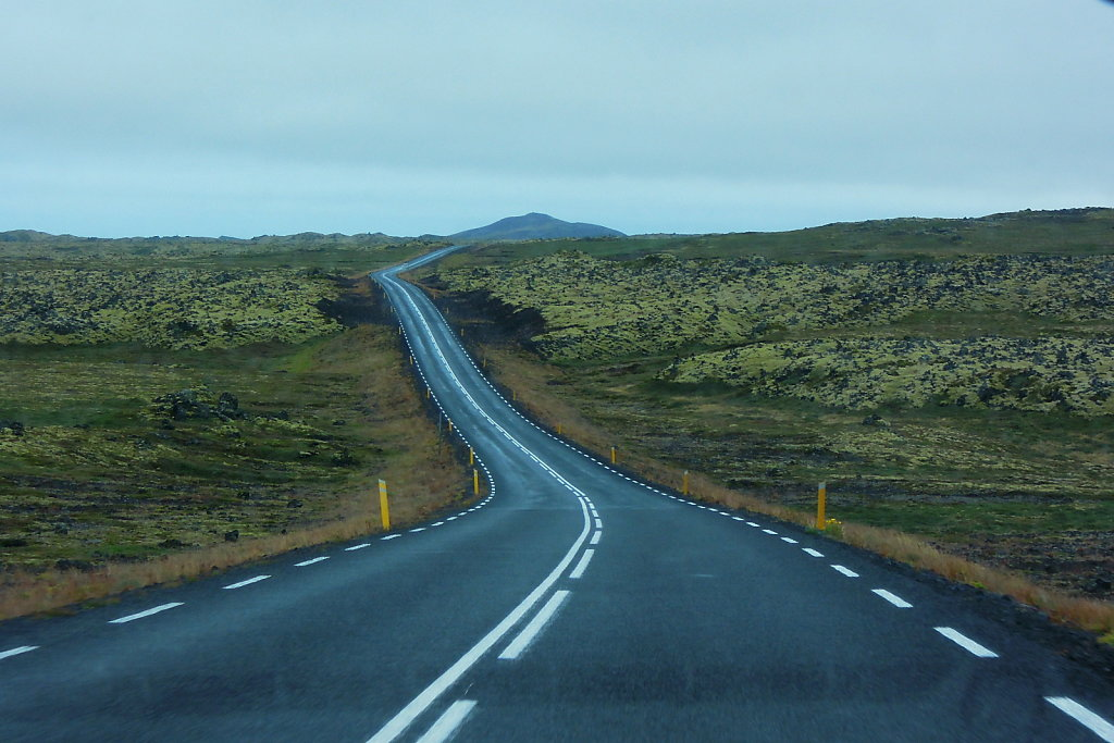 Road on Snæfellsnes peninsula